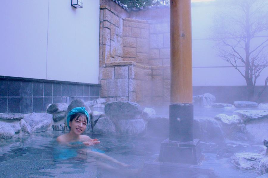 仙川 湯けむりの里 露天岩風呂
