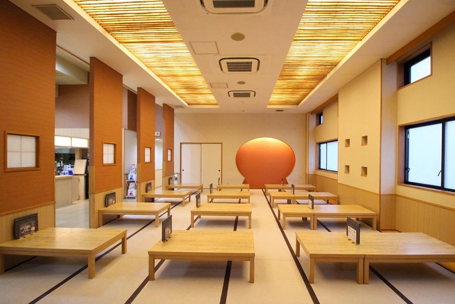 仙川 湯けむりの里 食事処1