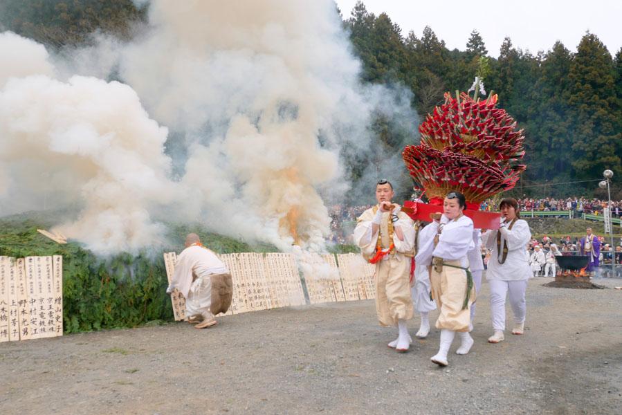 高尾山火渡り祭