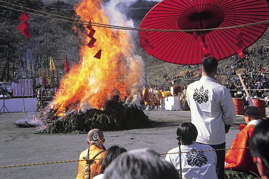長瀞火祭り