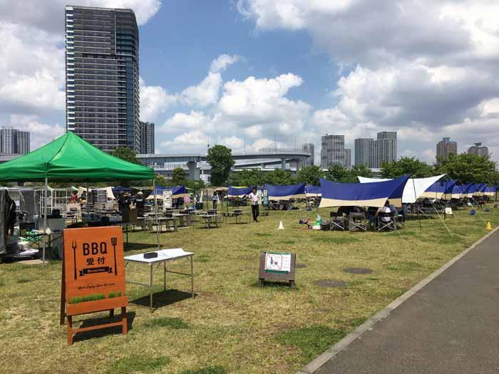 東京臨海広域防災公園 そなエリア東京 バーベキューガーデン
