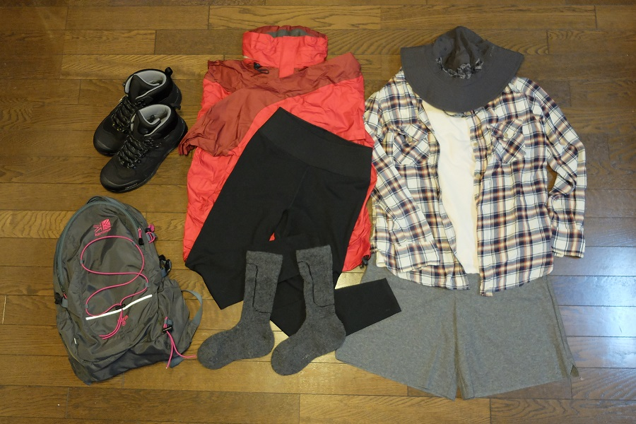 日帰り登山の服装