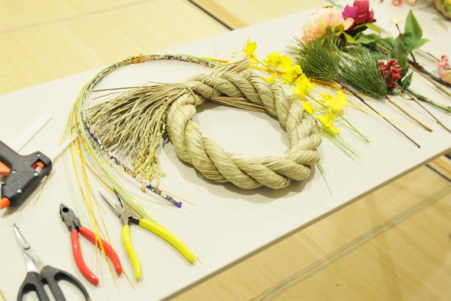 しめ縄飾りの材料