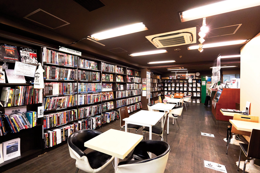 ブックカフェ二十世紀
