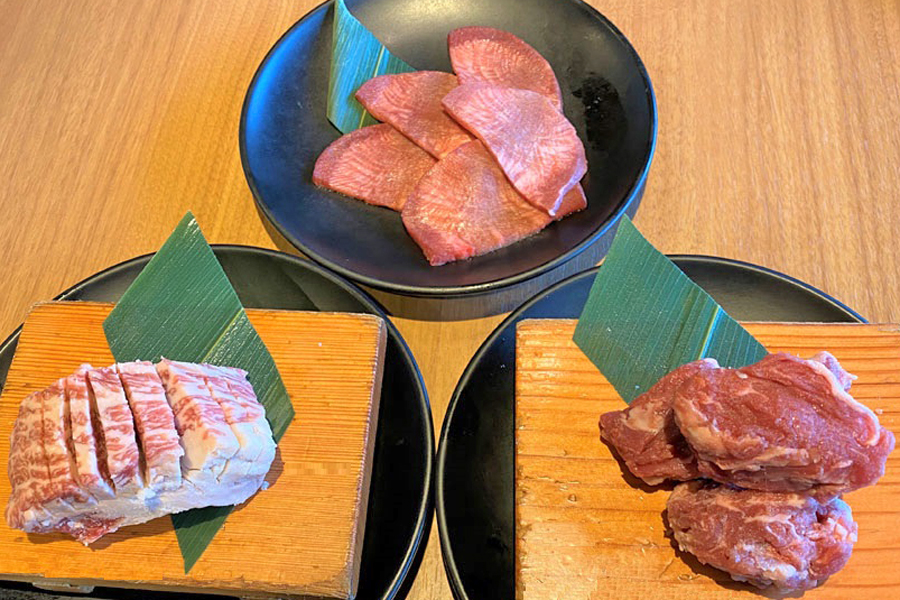 プレミアムコースの肉