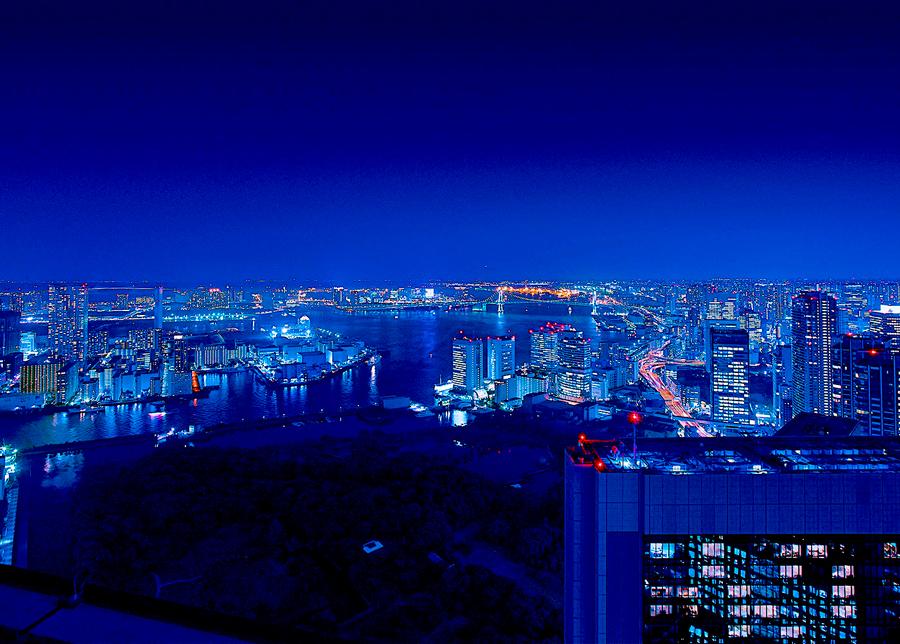 カレッタ汐留 無料展望スペース 「SKY VIEW」
