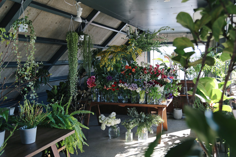 ex.flower shop & laboratory NAKAMEGURO