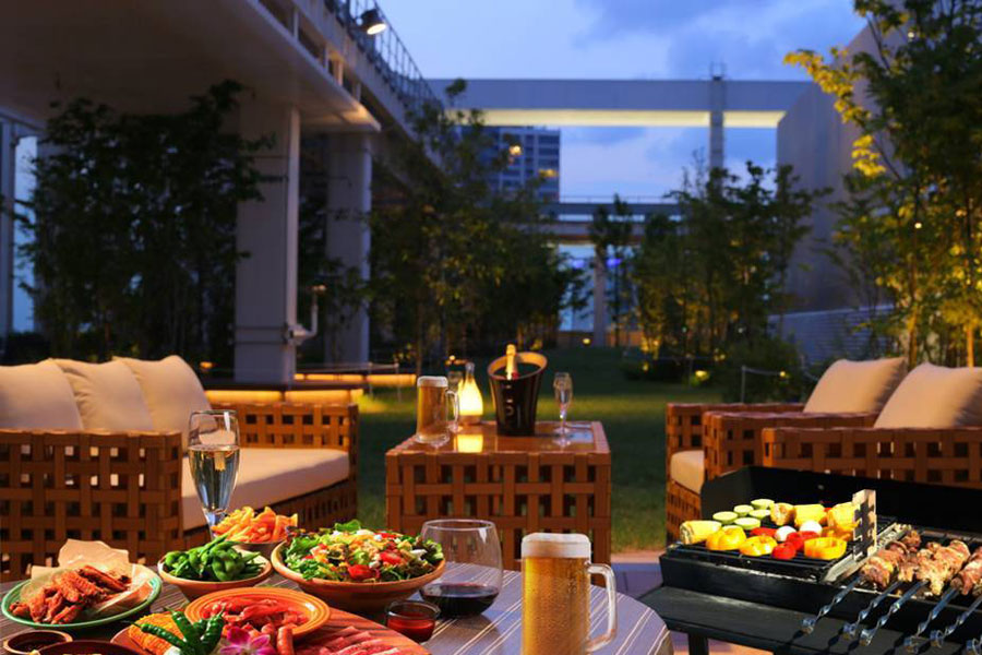 ARK HILLS SOUTH TOWER ROOFTOP LOUNGE