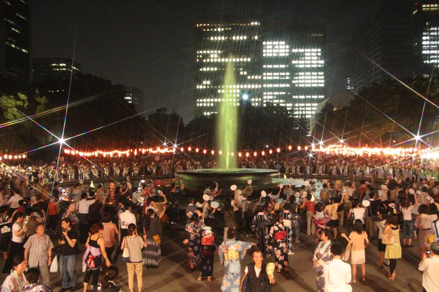 第14回 日比谷公園 丸の内音頭大盆踊り大会