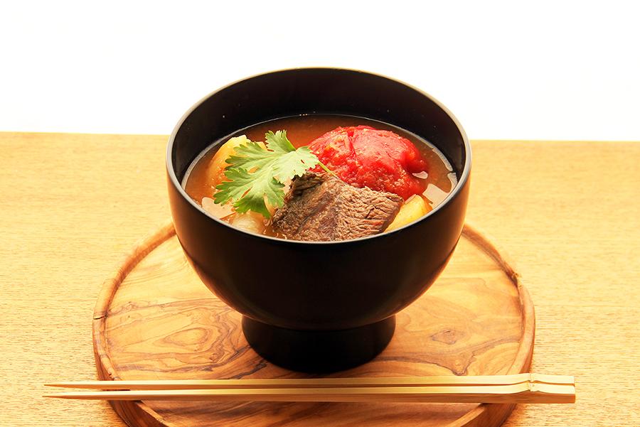 MISOJYU「まるごとトマトとほろほろ牛スネの みそポトフ」