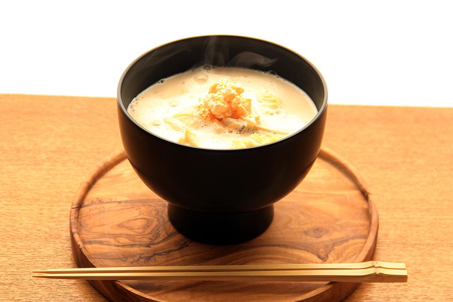 MISOJYU「豆乳とホタテのとろーり みそポタージュ」