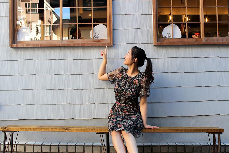 MISOJYU店外ベンチ