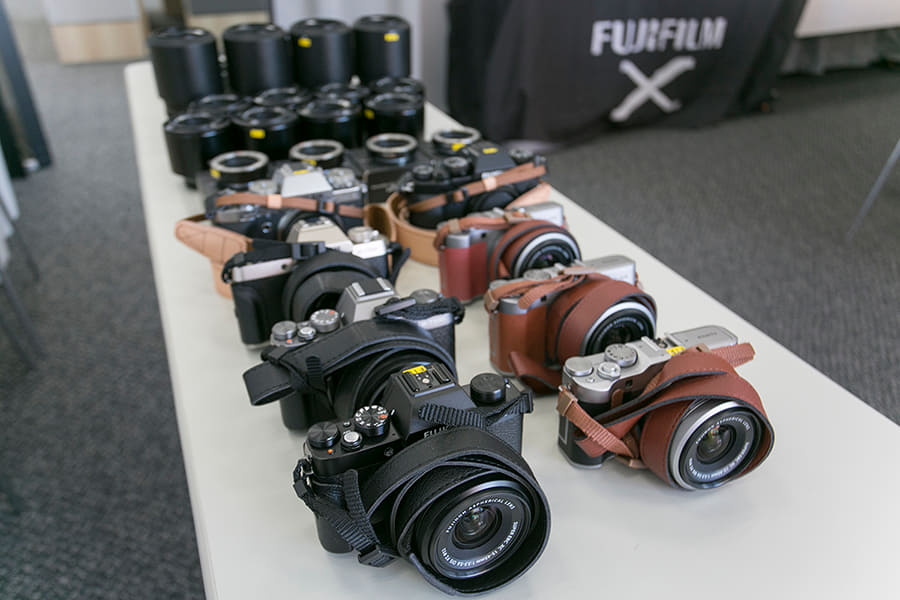 富士フイルムイメージングプラザ 貸出用カメラ