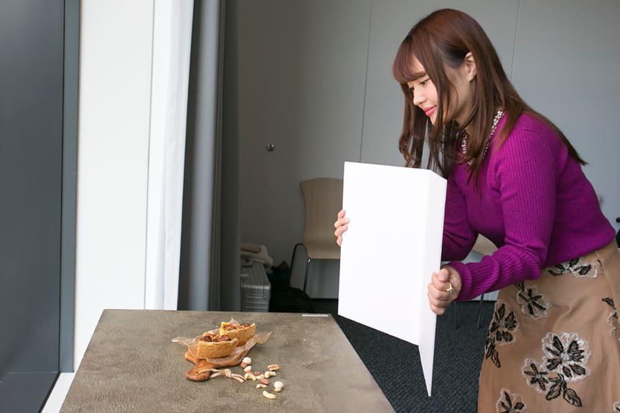 富士フイルムイメージングプラザ アカデミーX レフ板