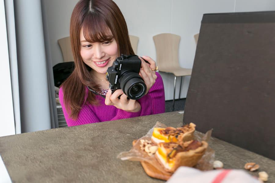 富士フイルムイメージングプラザ アカデミーX 料理撮影