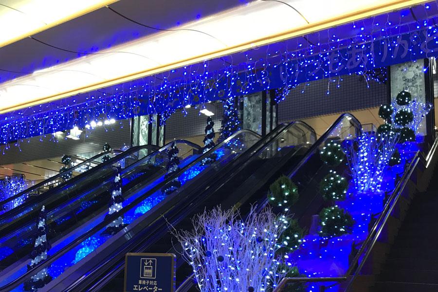 横浜ポルタ 白と青のキラメキの世界