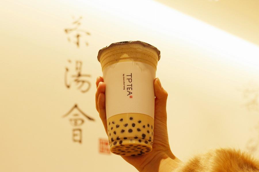 TP TEA 「タピオカミルクティー」(540円)