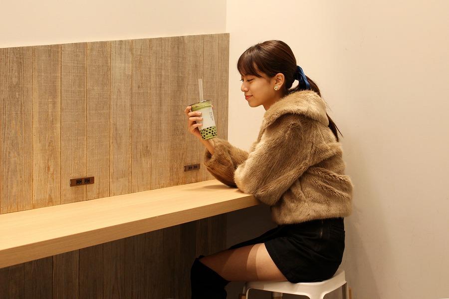 TP TEA 「大粒タピオカ抹茶ラテ」(648円)