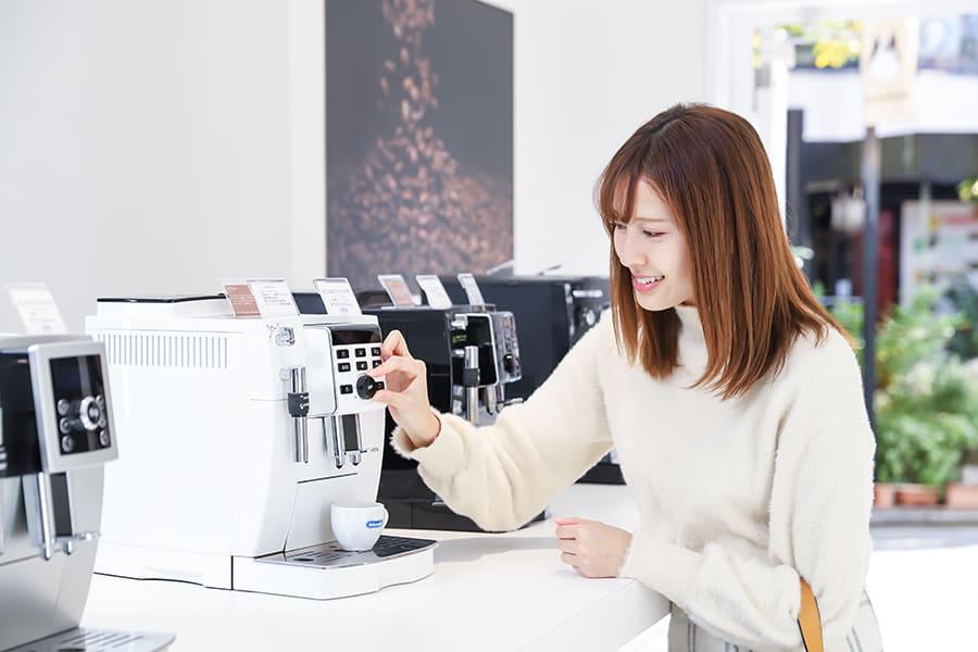 デロンギ 表参道 コーヒーメーカー