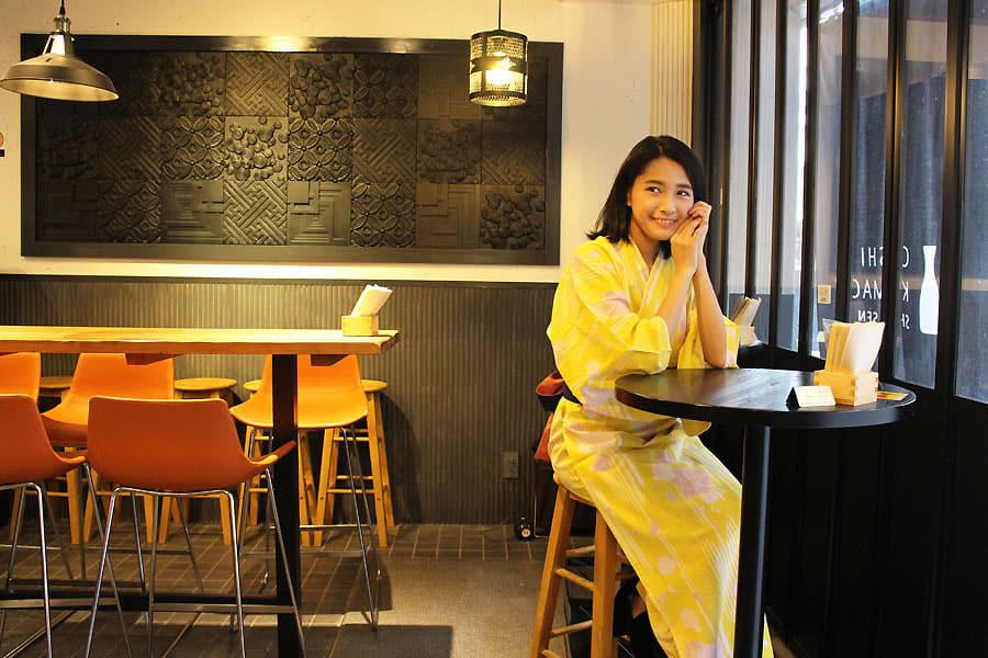 NADESHIKO HOTEL SHIBUYA オリジナル浴衣