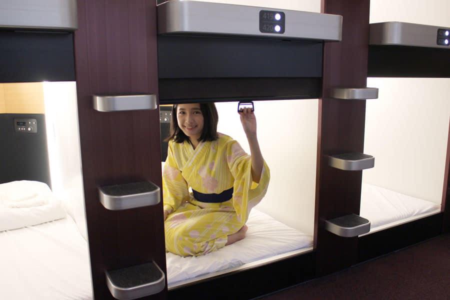NADESHIKO HOTEL SHIBUYA ベッド