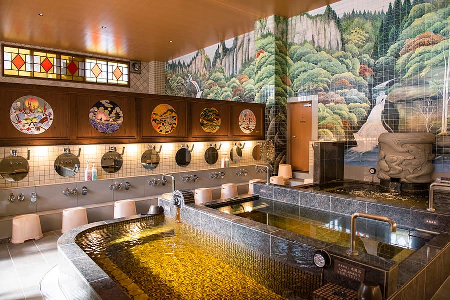 はすぬま温泉 浴場