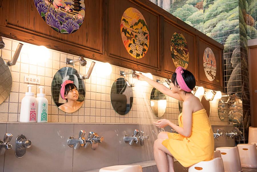 はすぬま温泉 シャワー