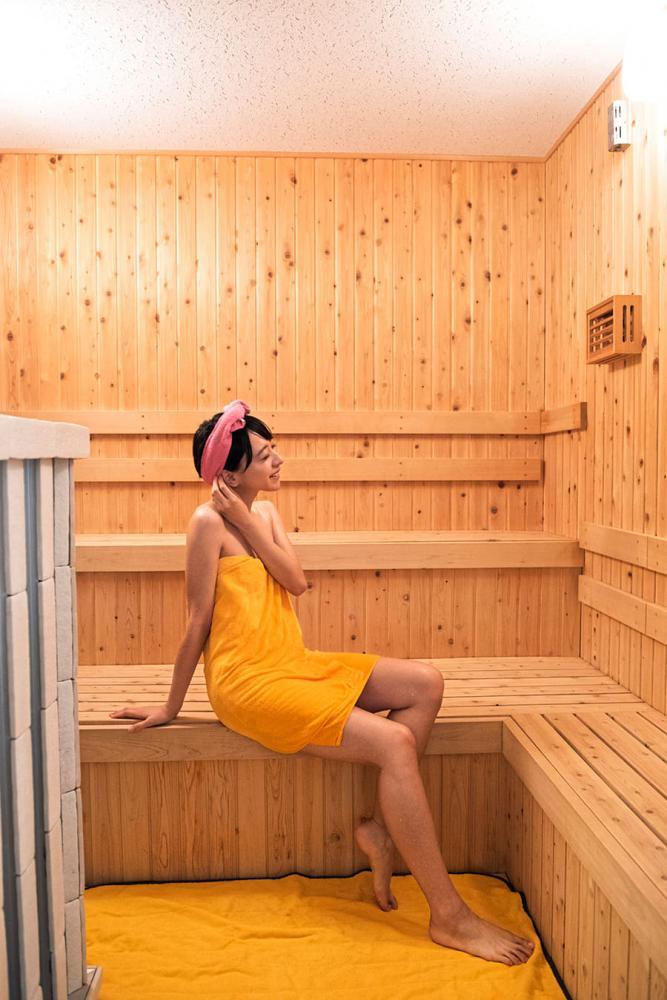 はすぬま温泉 サウナ室