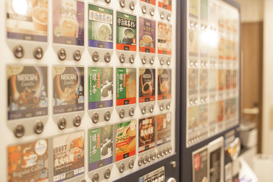 ウエストサイドルーム渋谷店 自販機