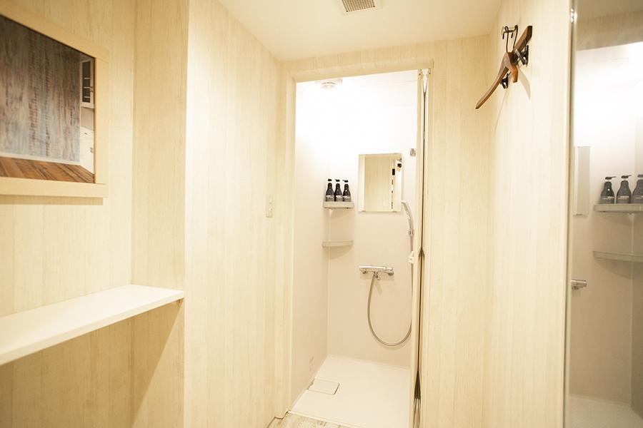 ウエストサイドルーム渋谷店 シャワールーム
