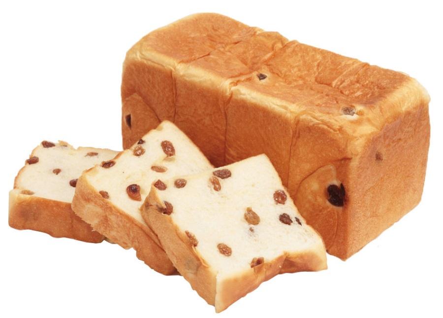 考えた人すごいわ レーズン入りの食パン「宝石箱」