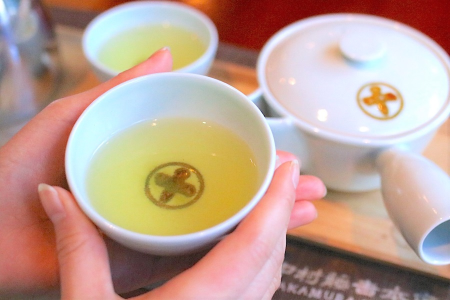 中村藤吉本店 銀座店 お茶のサービス