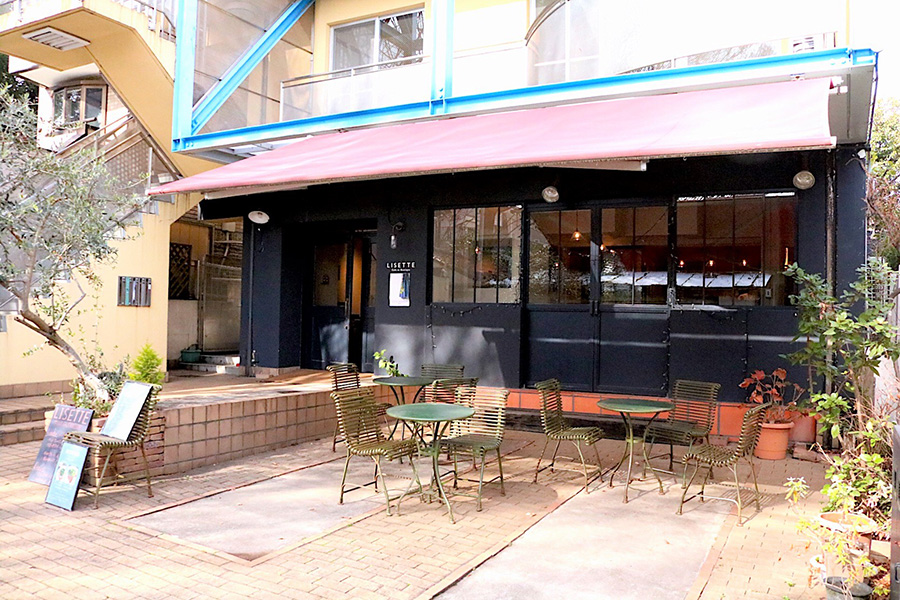 Cafe Lisette 外観
