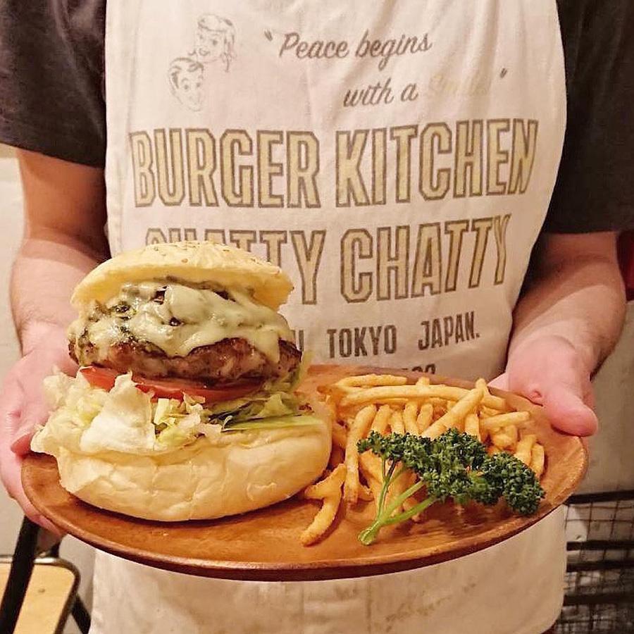 burger kitchen CHATTY CHATTY