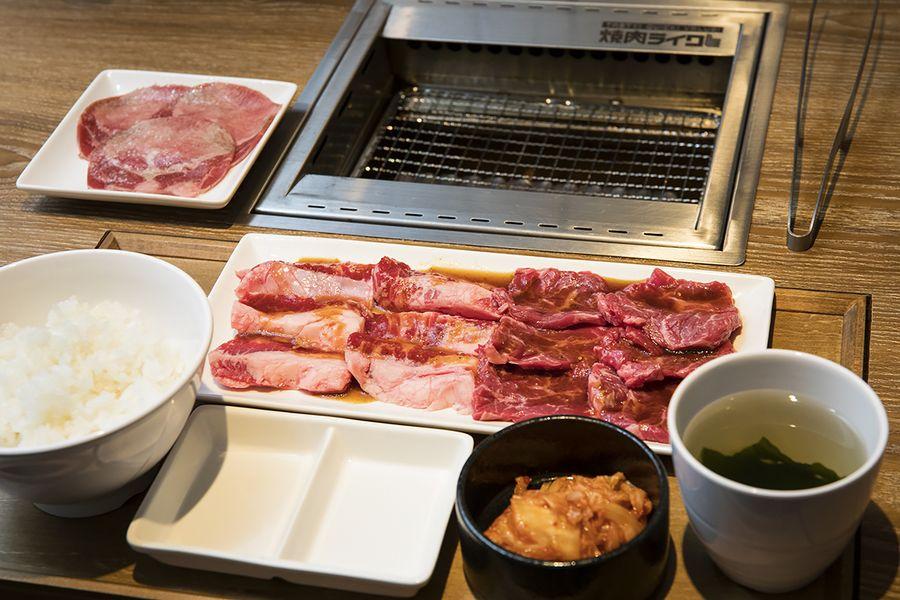 焼肉ライク_カルビ&ハラミセット