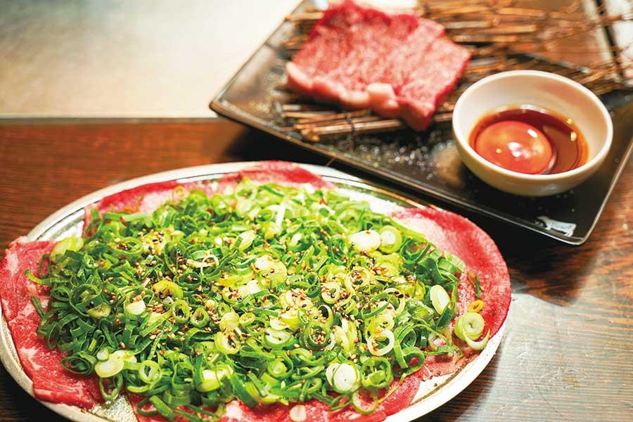 焼肉どんどん 新宿歌舞伎町店 「ねぎタン」