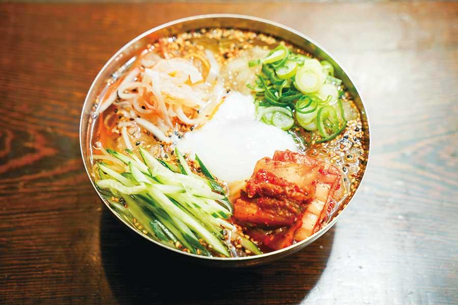 焼肉どんどん 新宿歌舞伎町店 「どんどん特製冷麺」