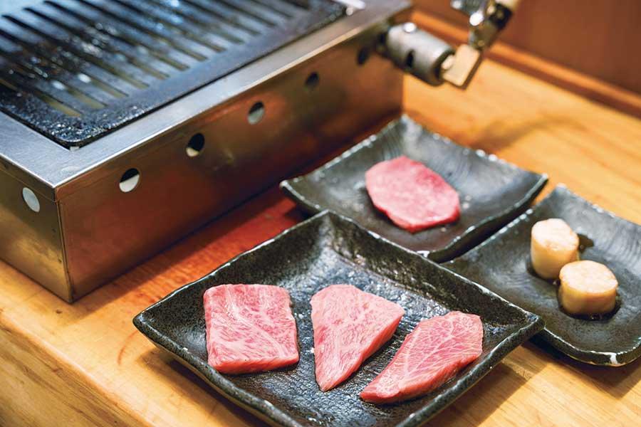 立喰い焼肉 治郎丸 新宿本店 お肉