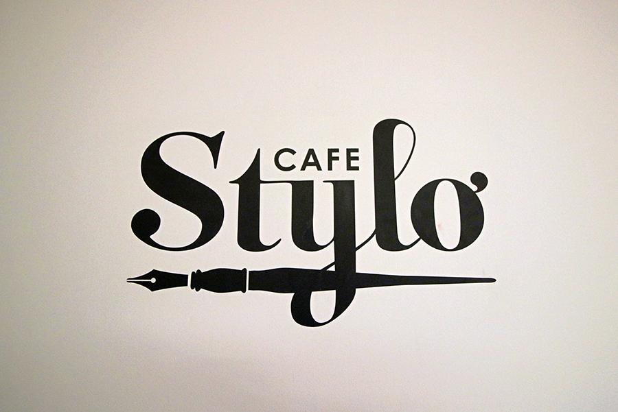 伊東屋 CAFE Stylo看板