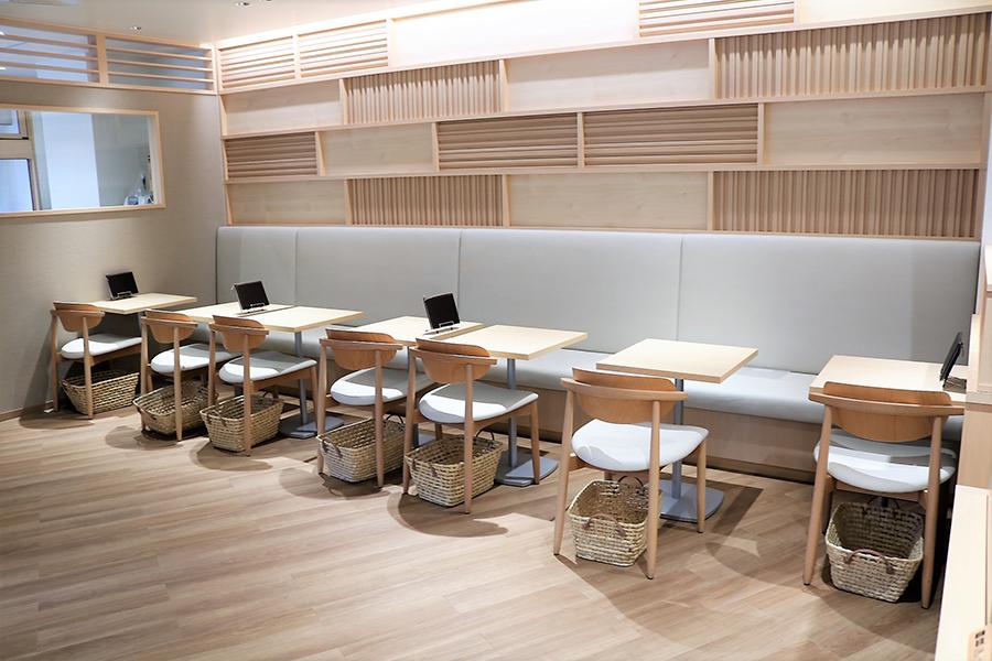花園万頭CAFE&SHOP カフェスペース