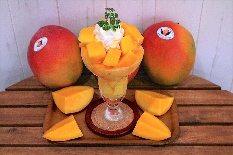 フルーツすぎ インカの秘宝マンゴーパフェ