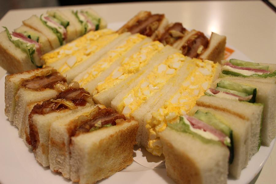 みやざわ サンドイッチの盛り合わせ