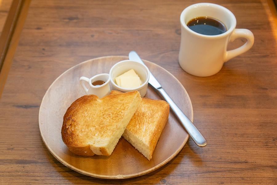 ドロップコーヒー 「トーストセット」