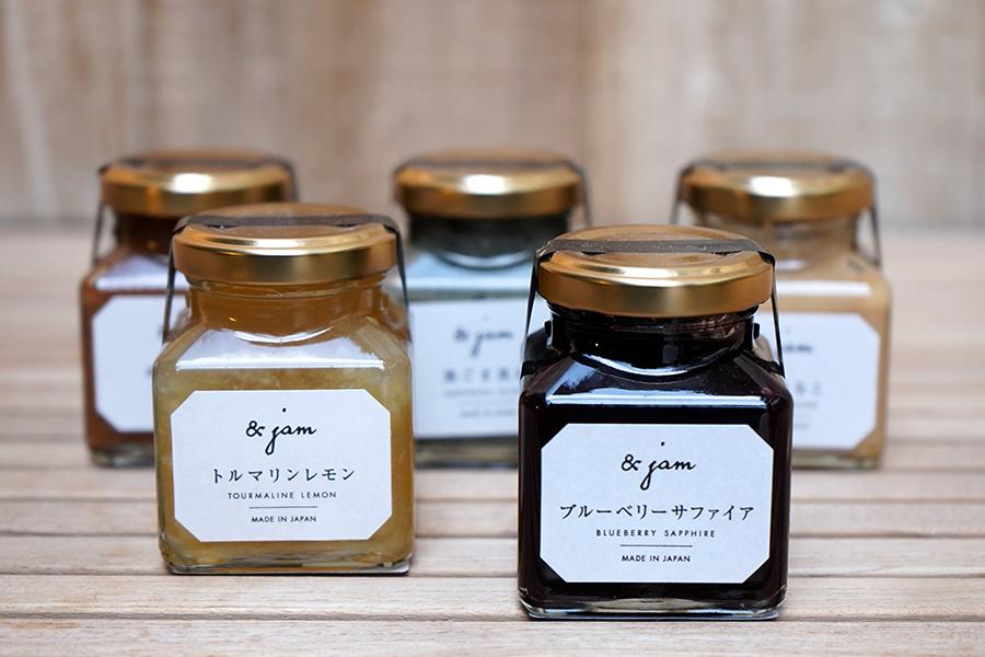 嵜本 田園調布店 「ブルーベリーサファイア」「琥珀きなこ」「オペラパール」