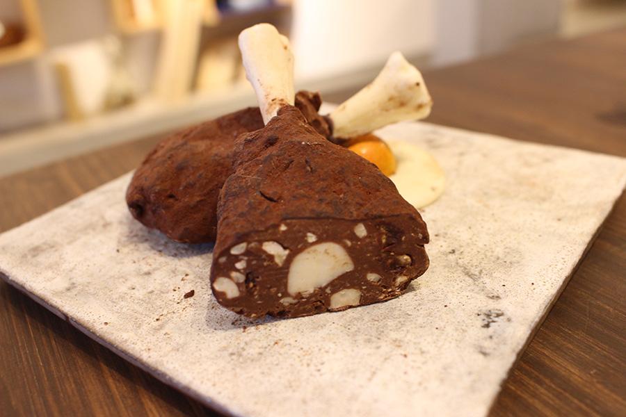 アーティチョークチョコレート 「骨つきチキン」