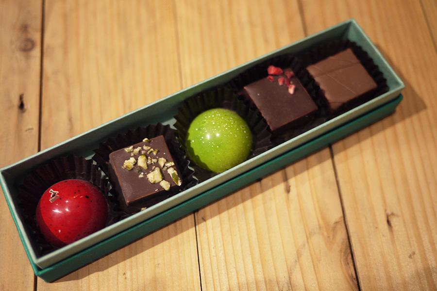 アーティチョークチョコレート 「おすすめのボンボンショコラ5種」