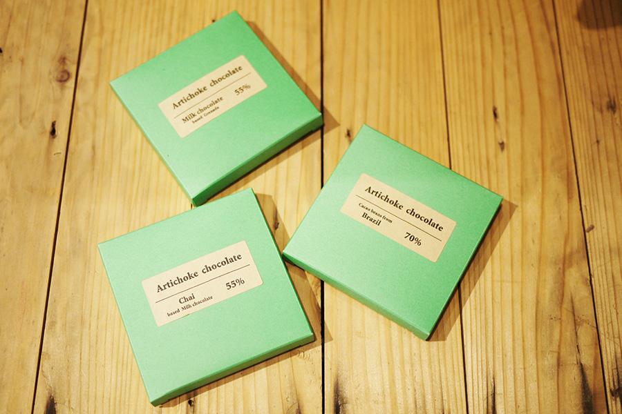 アーティチョークチョコレート 人気商品のタブレット