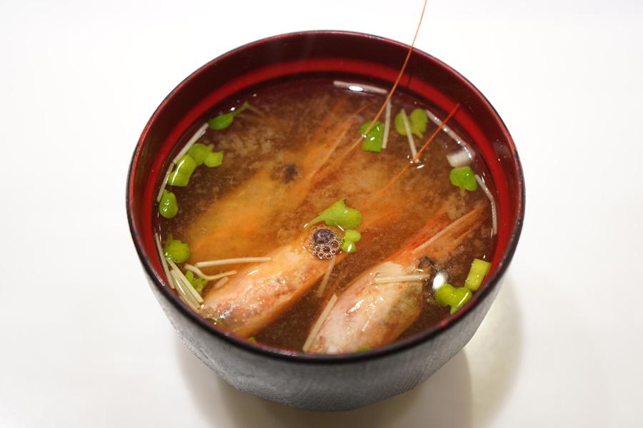 板前寿司 上野店えび汁