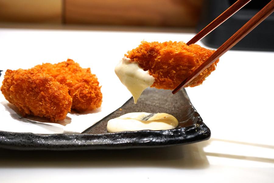 板前寿司 上野店カキフライ