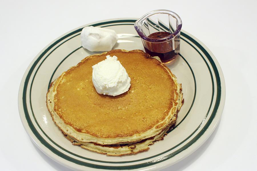 NUTTY'S CAFF「バターミルクパンケーキ」